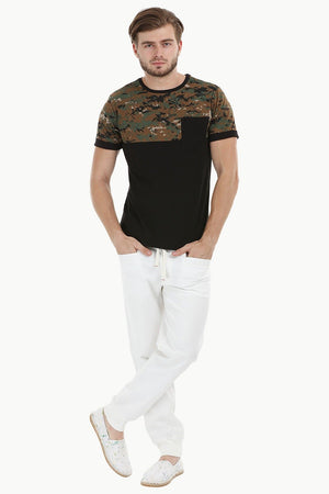 Cut N Sew Camo T-Shirt
