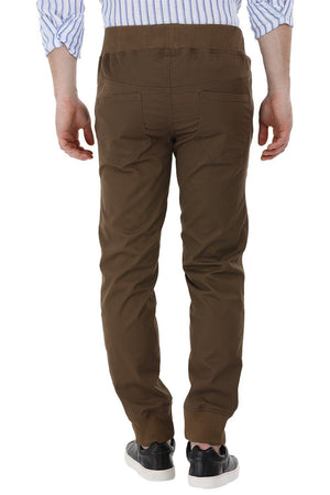 Drawcords Olive Cuff Joggers
