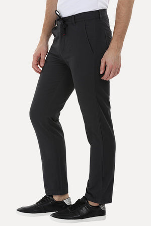 Elastic Waistband Pull On Chinos