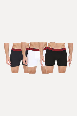Three Color Stretchable Briefs - Pack Of 3