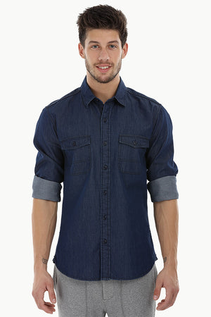 Everyday Indigo Denim Shirt