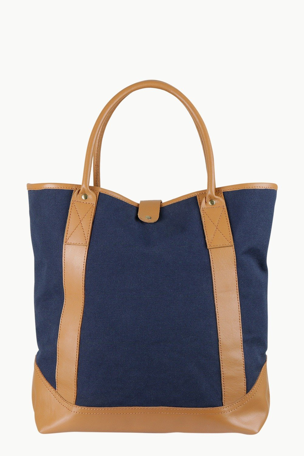 Buy Online Faux Leather Detail Canvas Tote Bags Online in India at ... af3179682d963