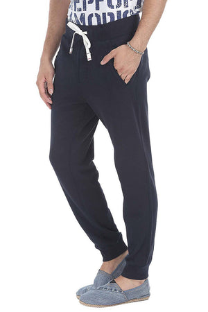 Solid Fleece Lazy Fit Sweatpants