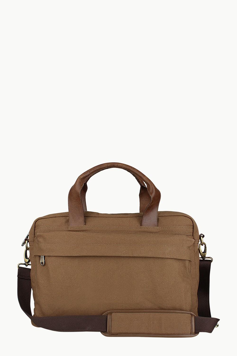 Buy Online Genuine Leather with DyedChocolate Brown Canvas Men s ... 606f55ea37e40