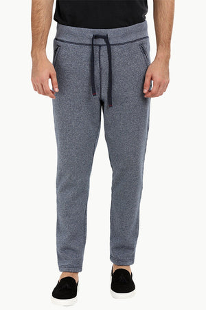 Heather Blue Pull On Sweatpants
