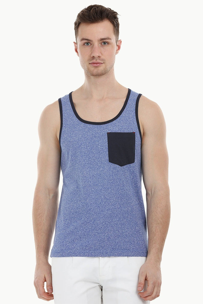 Heather Blue Summer Tank
