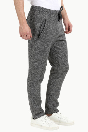 Heather Charcoal Pull On Sweatpants