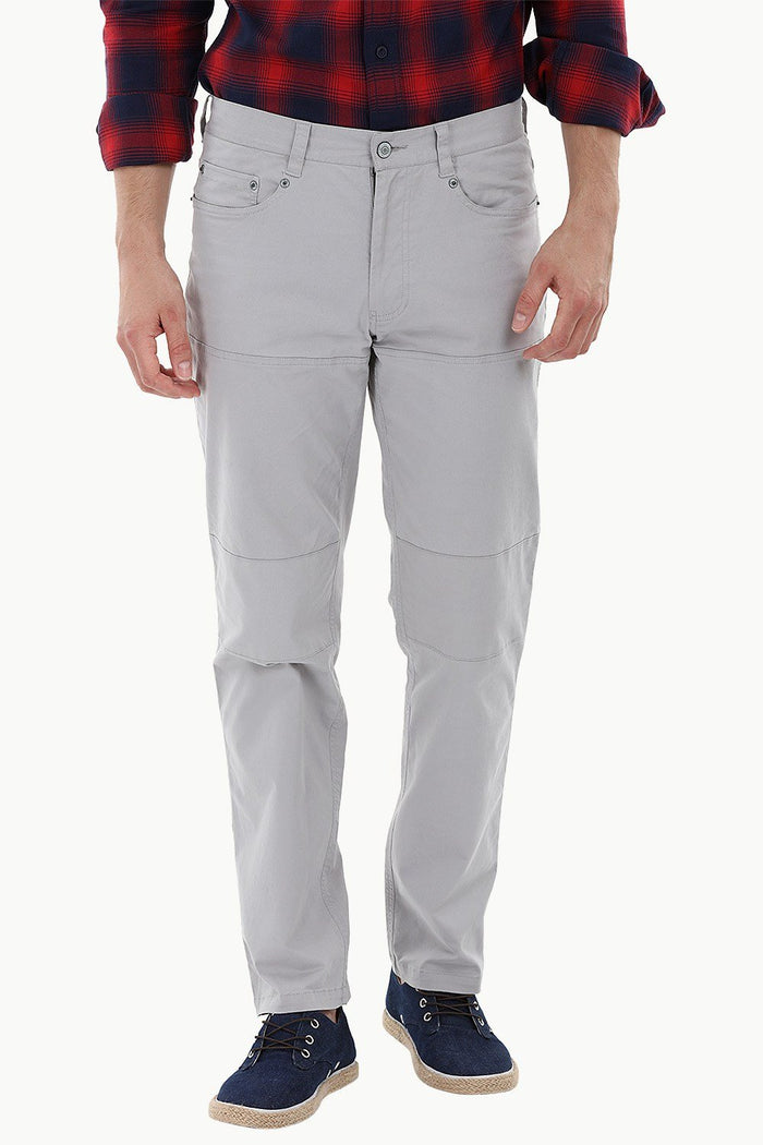 Knee-Panel Travel Pants