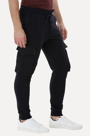 Knitted Cargo Cuff Jogger Sweatpants