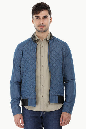 Raglan Indigo Denim Jacket