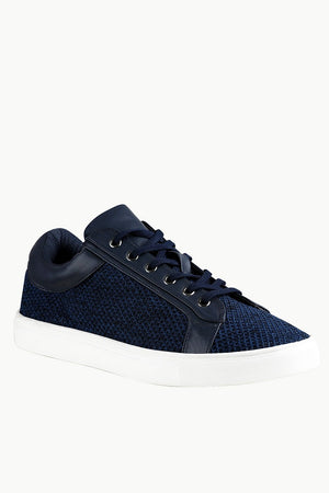 Lace Up Mesh Plimsolls