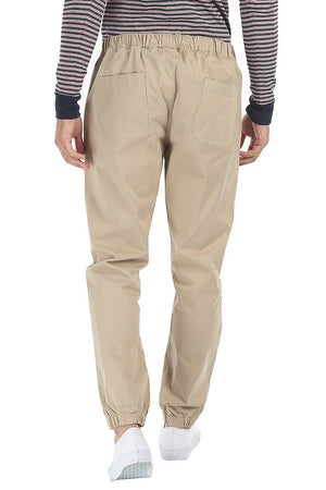 Enzyme Washed Lightweight Cotton Twill Pant