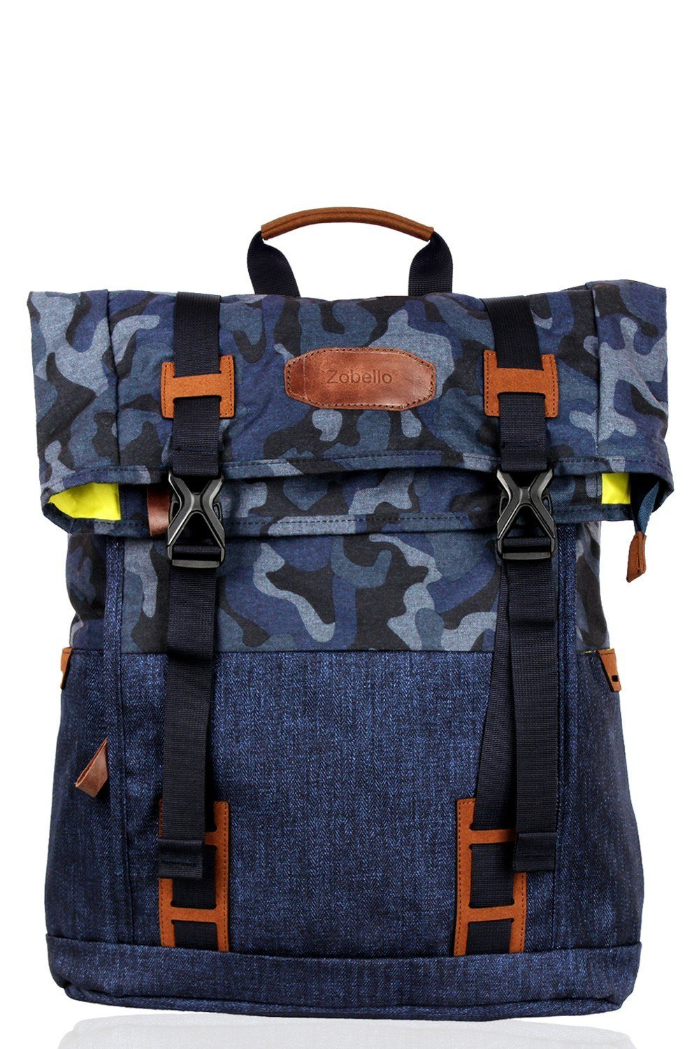 Buy Online Navy Camo Lightweight Laptop Travel Backpack for Mens ... c197f4129fd9e