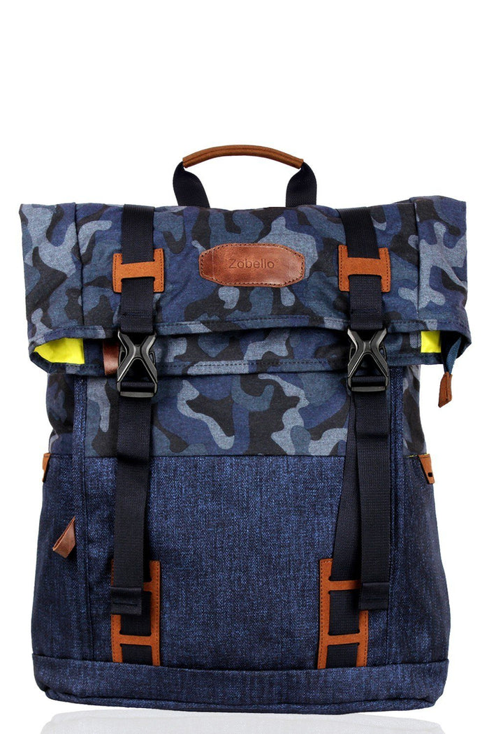 Camo Laptop Travel Backpack