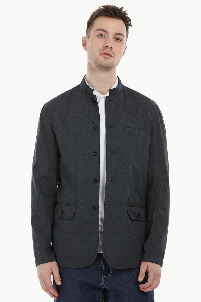 Lightweight Green Nehru Jacket