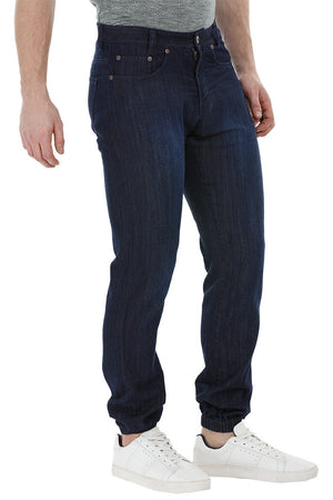 Lightweight Navy Denim Joggers