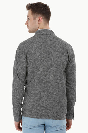 Lightweight Nehru Knit Jacket