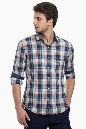 Madras Plaid Casual Shirt