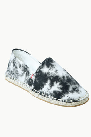 Men's Blotch Tie-Dye Pattern Espadrilles