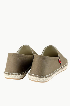 Men's Brown Canvas Basque Espadrilles