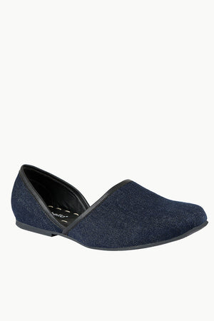 Mens Denim Navy Juttis