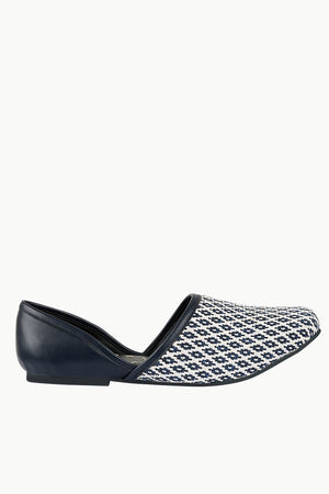 Men's Diamond Jacquard Juttis