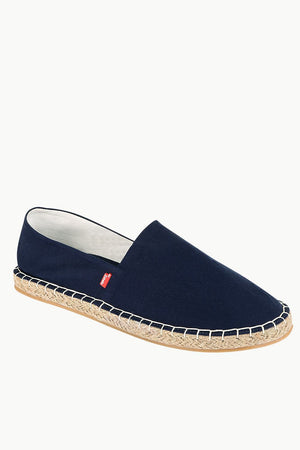 Men's Navy Solid Espadrilles