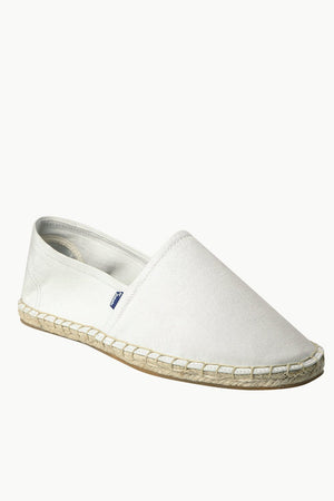Men's Oatmeal Canvas Basque Espadrilles