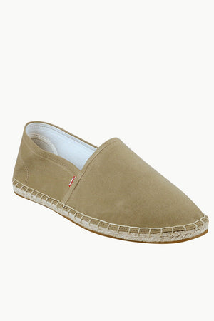 Men's Sand Canvas Basque Espadrilles