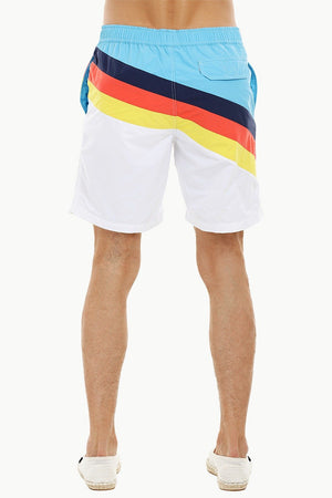 Mens Daytona Multicolour Quickdry Swimshorts