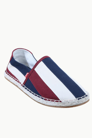 Mens Indigo Cut N Sew Denim Espadrilles