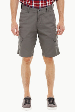 Mens Slate Grey Cargo Summer Shorts