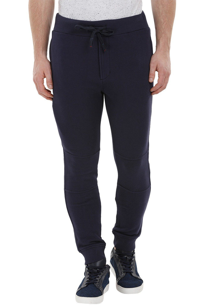 Navy Cuff Jogger Sweatpants