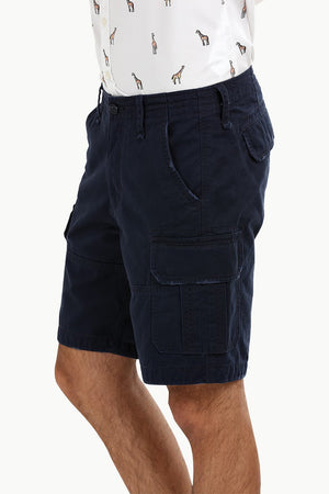 Navy Rugged Cargo Shorts