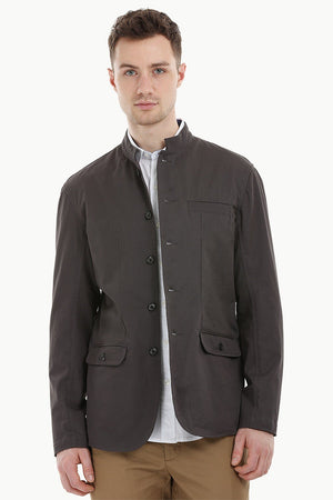 Nehru Bandhgala Grey Jacket