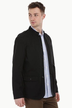 Nehru Buttoned Casual Jacket