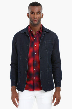 3 Button Denim Jacket