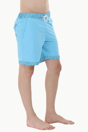 Printed Waistband Swimshorts