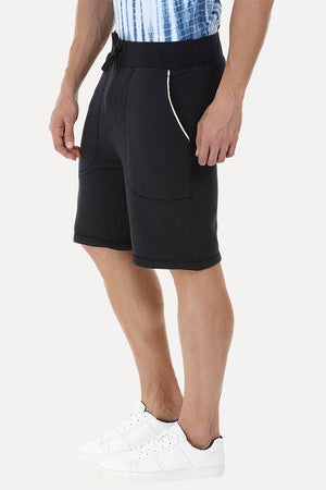 Pull On Knit Sweat Shorts