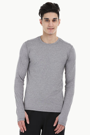 MÌÎÌ__í«̴å©lange Performance Wear Stretch Tee With Thumb Hole