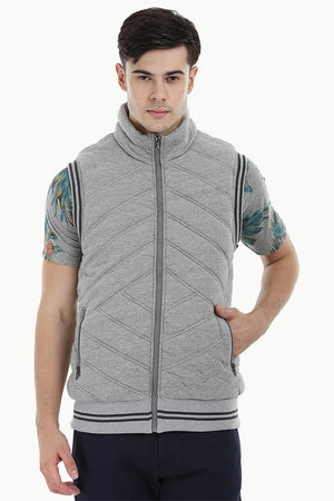 Classic Quilted Varsity Jacket
