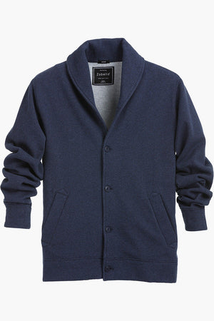 Shawl Collar Fleece Cardigan