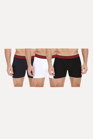 Multicolor Stretchable Briefs - Pack Of 3