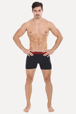 Stretchable Boxer With Side Flyer