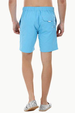 Side Stripe Nylon Swim Shorts