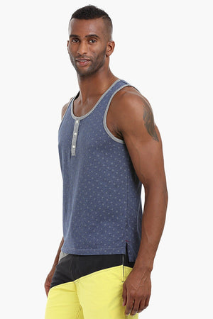 Skull Printed Cotton Tank