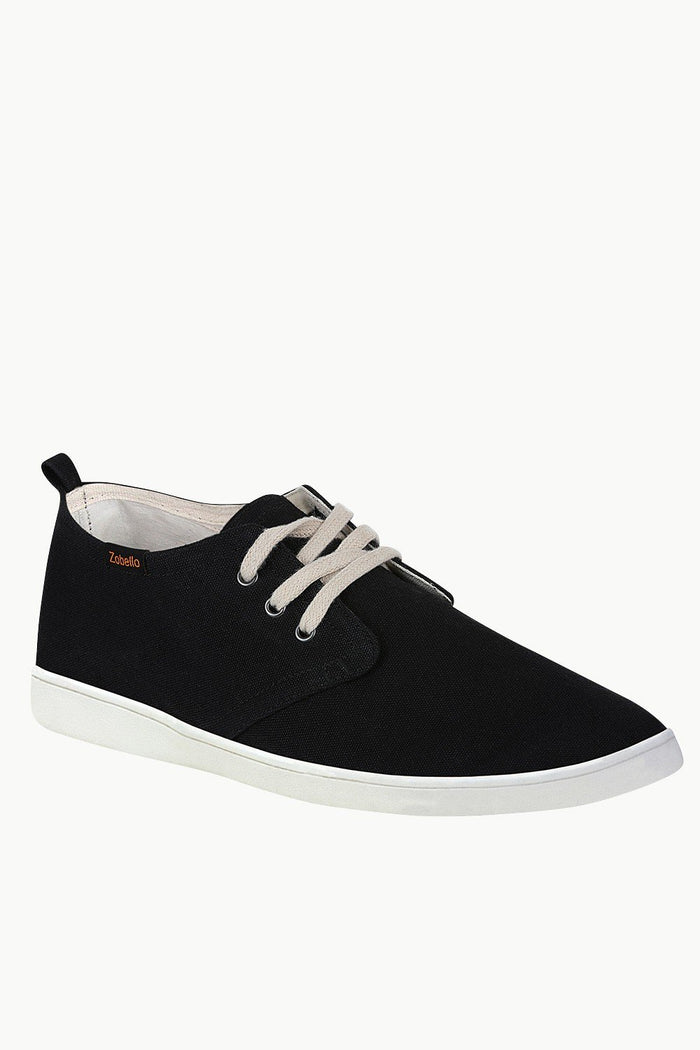 Solid Lace Up Plimsolls