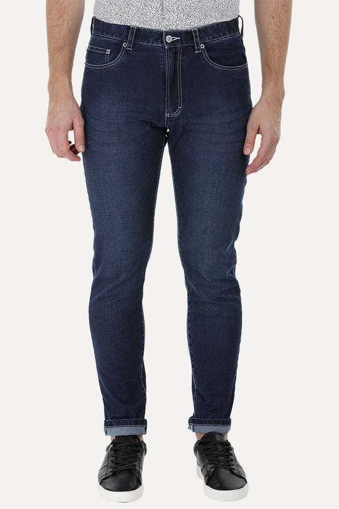 Stretchable Straight Fit Jeans