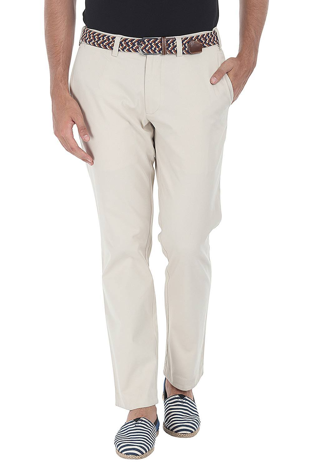 b62aa3510ce Buy Online Cotton Peach Twill Chino Pants Online in India at zobello ...
