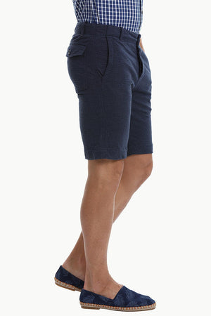 Relaxed Fit Soft Cotton Knit Shorts